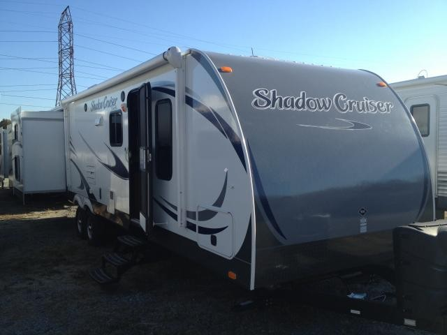 2013 SHADOW CRUISER 314 TRIPLE SLIDE BUNK HOUSE