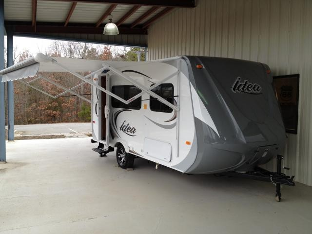 2012 Travel-Lite Idea i15 Lightweight Electric Awning