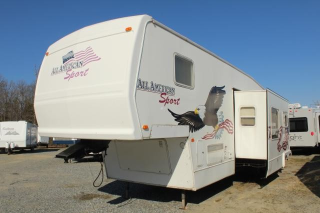 2004 Forest River All American Sport 38CKXB Toy Hauler Concord NC