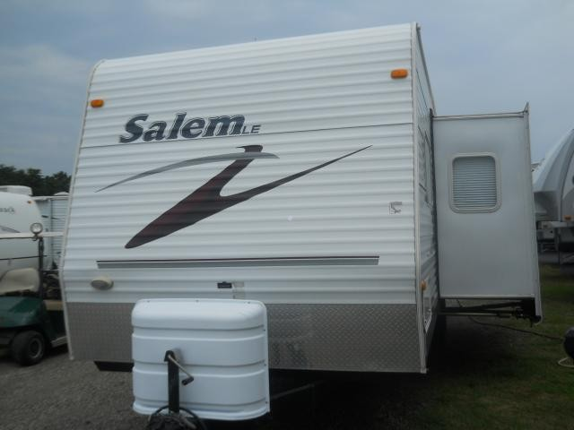 2007 FOREST RIVER SALEM 29BHSS SUPER SLIDE W/ TWO BUNKS VERY CLEAN