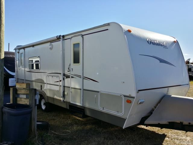 2007 KEYSTONE OUTBACK 26RKS SINGLE SLIDE REAR KITCHEN LIGHT WEIGHT TRAVEL TRAILER DUNCAN SC