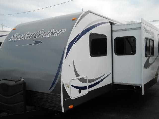 2013 Cruiser RV Shadow Cruiser 280QBS Quad Bunk Outside Kitchen