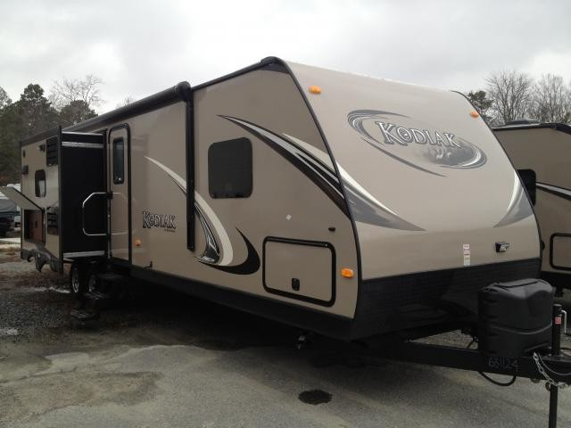 2014 Dutchmen Kodiak 300BH BunkHouse Outside Kitchen Island Kitchen 300BHSL