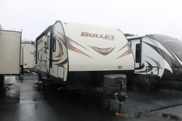 2014 BULLET ULTRA LITE 287 QBS  QUAD BUNKS WITH OUTSIDE KITCHEN