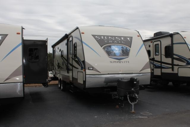 2014 CROSSROADS SUNSET TRAIL 290RL LIGHT WEIGHT SUPER SLIDE REAR LIVING