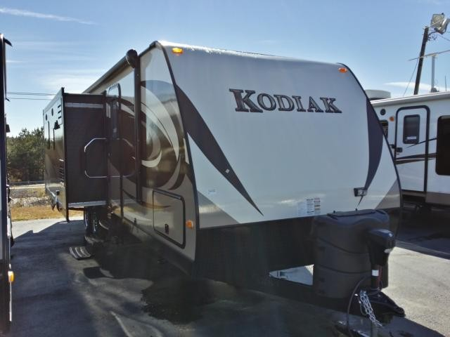 2014 DUTCHMEN KODIAK 291RESL REAR ENTERTAINMENT DOUBLE SLIDE LIGHT WEIGHT DUNCAN SC