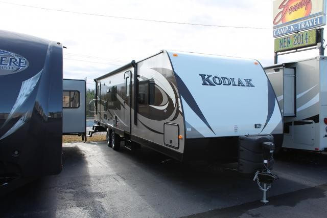 2014 DUTCHMEN KODIAK 298RLSL REAR LIVING DOUBLE SLIDE TRAVEL TRAILER LIGHT WEIGHT DUNCAN SC