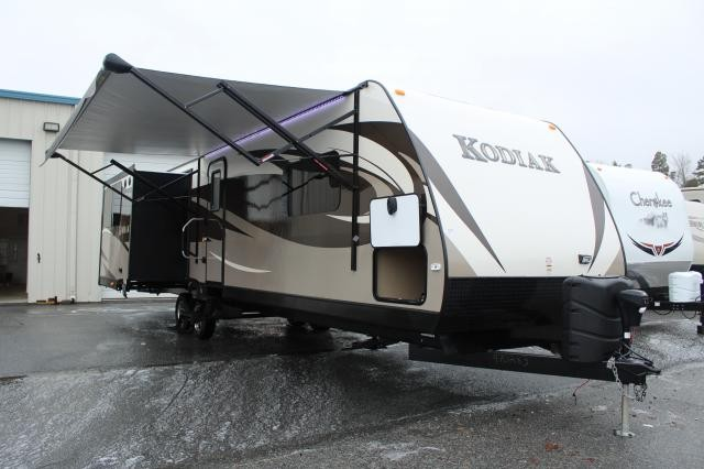 2014 Dutchmen Kodiak 331RLSL Triple Slide Rear Living Bed Slide High End Concord NC
