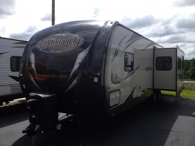 2014 Forest River Salem Hemisphere 282RK Rear Kitchen w/ Outside Kitchen Full Elec. Pkg Remote