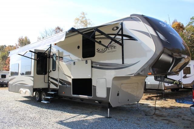 2014 Grand Design Solitude 369RL Fifth Wheel Luxury Concord NC