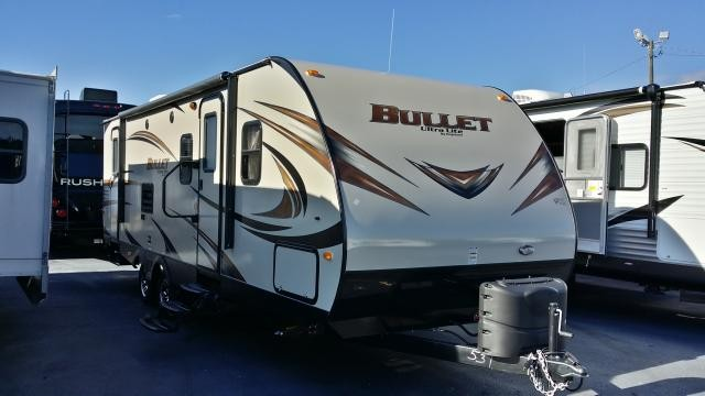 2014 KEYSTONE BULLET ULTRA LIGHT 272BH SINGLE SUPER SLIDE BUNK HOUSE LIGHT WEIGHT DUNCAN SC