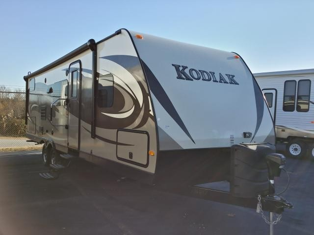 2014 KEYSTONE DUTCHMEN KODIAK 284BHSL SINGLE SUPER SLIDE BUNK HOUSE OUTSIDE KITCHEN LIGHT WEIGHT DUNCAN SC