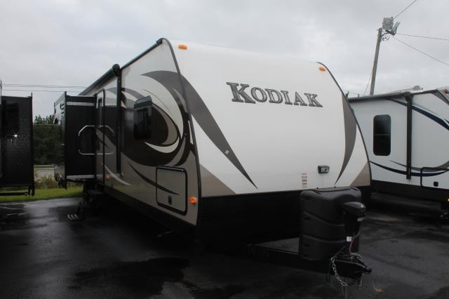 2014 KEYSTONE DUTCHMEN KODIAK 300BH TRIPLE SLIDE BUNK HOUSE HUGE OUTSIDE KITCHEN DUNCAN SC