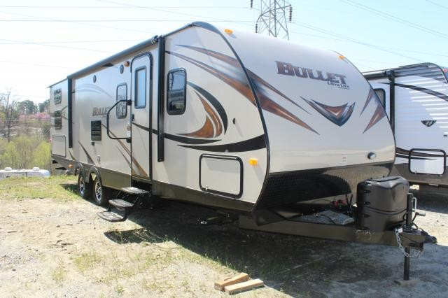 2015 Keystone Bullet 287QB Lightweight Bunkhouse Four Bunks Luxury