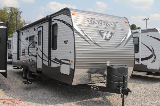 2014 Keystone Hideout 27DBS Outside Kitchen Bunkhouse Concord NC