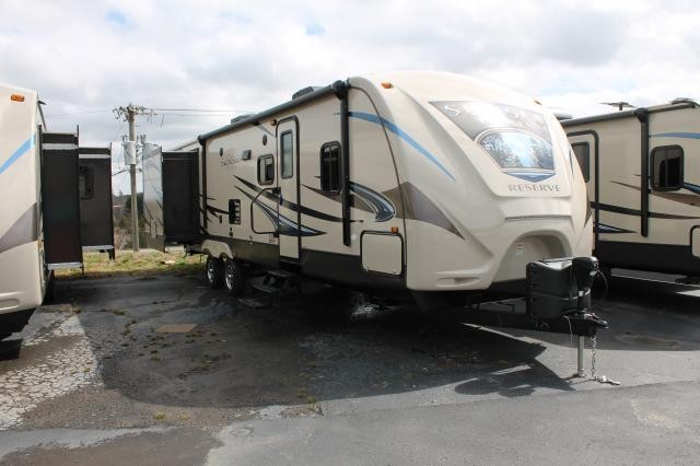 2015 CROSSROADS SUNSET TRAIL RESERVE 33FR TRIPLE SLIDE BUNK HOUSE DUNCAN SC