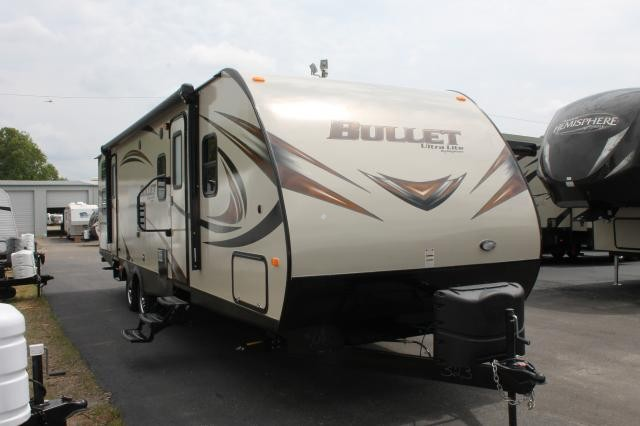 2015 KEYSTONE BULLET ULTRA LITE 308BHS DOUBLE SLIDE BUNK HOUSE OUTSIDE KITCHEN TRAVEL TRAILER DUNCAN SC