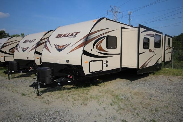 2015 Keystone Bullet Ultra Light 308BHS Double Slide Outside Kitchen Concord NC