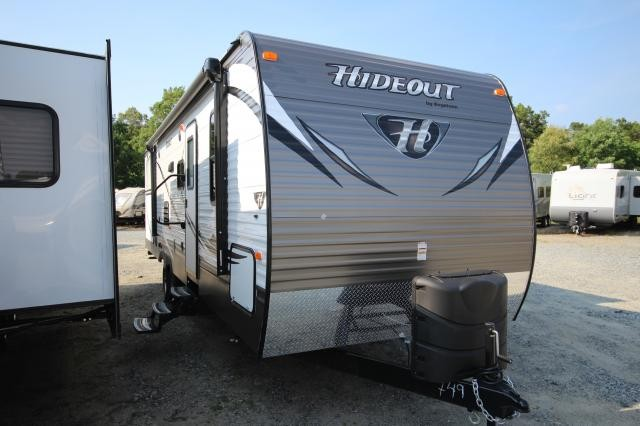 2015 Keystone Hideout 29BKS Luxury Package Full Outside Kitchen Bunks Concord NC