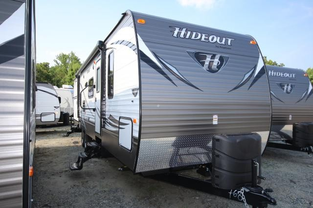 2015 Keystone Hideout 31RBDS Double Slide Bunkhouse Outside Kitchen Two Doors Central Vac Stainless Steel Appliances Cold Mountain Package Concord NC