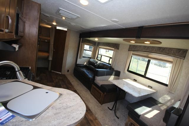 2017 Forest River Wildcat 281DBK Bunkhouse Double Over