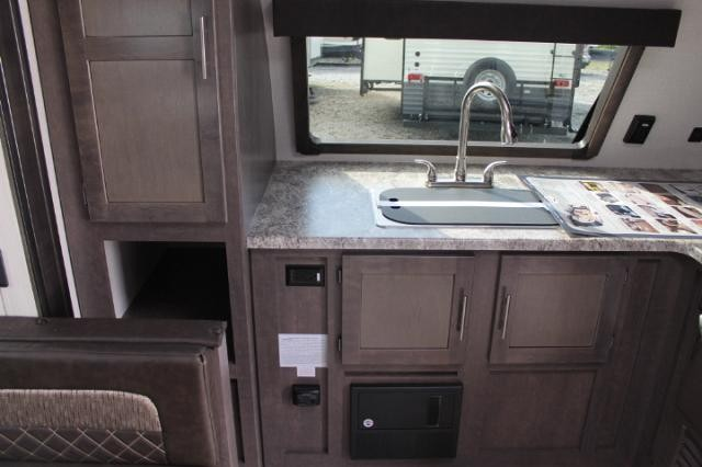 Kitchen In Front Travel Trailers