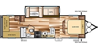 2017 Forest River Salem Cruise Lite 273QBXL Single Slide Bunkhouse Travel Trailer Duncan SC