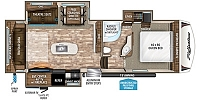 2019 Grand Design Reflection 29RS Triple Slide Rear Living Fifth Wheel Duncan SC