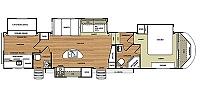 2014 Forest River Salem Hemisphere Lite 366BH 4 Slide Bunkhouse Fifth Wheel Duncan SC