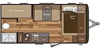2018 Keystone Hideout 175LHS Single Axle Lightweight Bunkhouse Travel Trailer Duncan SC