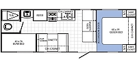 2014 Palomino Canyon Cat 27FQC Bunk House Lightweight Great Starter Camper Concord NC