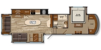2014 Grand Design Solitude 369RL 5th Wheel Camper Rear Living 3 Slides w/Toppers 2 A/C's Side by Side Fridge Auto Level Ceiling Fan Fireplace Duncan SC