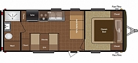 2014 Keystone Hideout 230LHS Lightweight Luxury Unit Huge Bathroom Concord NC