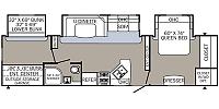2019 Palomino Puma 32RBFQ Travel Trailer Bunkhouse 3 Slides W/D Prep Large Master Bedroom Outside Kitchen and Shower Electric Jacks Duncan SC