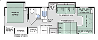 2018 Thor Quantum RQ29 Class C Motorhome Ford Chassis and Gas 6.8 V10 Engine 2 Slides Outside Kitchen Onan Generator Auto Leveling 3 TV's Duncan SC