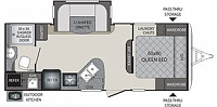 2018 Keystone Bullet Premier 22RBPR Rear Bath Travel Trailer Thermal Package Outside Kitchen 1 Slide Under 5000lbs Duncan SC