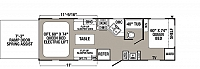 2019 Puma XLE 25TFC Travel Trailer Toy Hauler Outside Kitchen Double Electric Trac Queen Beds 15K A/C Electric Awning Duncan SC