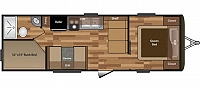 2017 Keystone Hideout 262LHS Double Bunkbeds Central Vac System Electric Pkg Lightweight Concord NC
