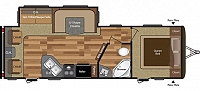2017 Keystone Hideout 26RLS Real Living w/ Recliners Half Ton Towable Luxury Package CONCORD NC