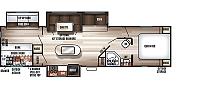 2018 Forest River Cherokee 304BH Travel Trailer Bunkhouse 3 Slides Fireplace Blue Accent LED's Outside Fridge Solar Prep Duncan SC