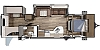 2020 Highland Ridge Mesa Ridge 331 BHS Bunk House Two Slides Outside Kitchen Concord NC