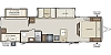 2020 Keystone RV Bullet 308BHS Double Slide Bunkhouse Outside Kitchen Concord NC