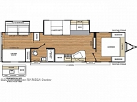 2019 Coachmen Catalina SBX 321BHDS Rear Bunk House 2 Entries Full Shower U-Shaped Dinette Storage Space Outside Kitchen 2 Slides CONCORD NC