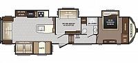 2017 Keystone Sprinter 357FWLFT Rear Living Entertainment Center Theatre Seating Bonus Entertainment Room Loft Double Bunk Washer Dryer Prep Queen Bed Four Slides CONCORD NC