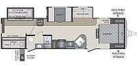 2018 Keystone Bullet Premier 31BHPR Luxury Lightweight Bunkhouse Two Entry Doors Two Slides High End Furniture Outdoor Kitchen CONCORD NC