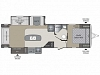 2019 Keystone Bullet Premier 30RIPR Rear Entertainment Center Tri-Fold Sofa Cinema Recliners Kitchen Island Booth Dinette Corner Radius Shower Front Queen Bed 2 Slides Outdoor Kitchen CONCORD NC