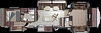 2018 OPEN RANGE 376FBH ROAMER FIFTH WHEEL FRONT LIVING/BUNK HOUSE QUIET A/C AUTO LEVEL 23 C/U FT FRIDGE PVC ROOF DUNCAN SC