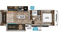2018 Grand Design Reflection 150 Series 295RL Rear Living 1/2 Ton Towable 2 A/C's 2 Slides Fireplace Free Standing Dinette Duncan SC