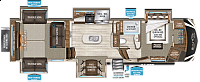 2017 Grand Design Solitude 375RES-R Five Slides Full Time Rear Entertainment Fifth Wheel Class Leading Rear Storage CONCORD NC