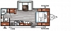 2019 Forest River Salem Cruise Lite 233RBXL Travel Trailer Rear Bath 1 Slide Murphy Bed Power Jacks Big Pantry Duncan SC